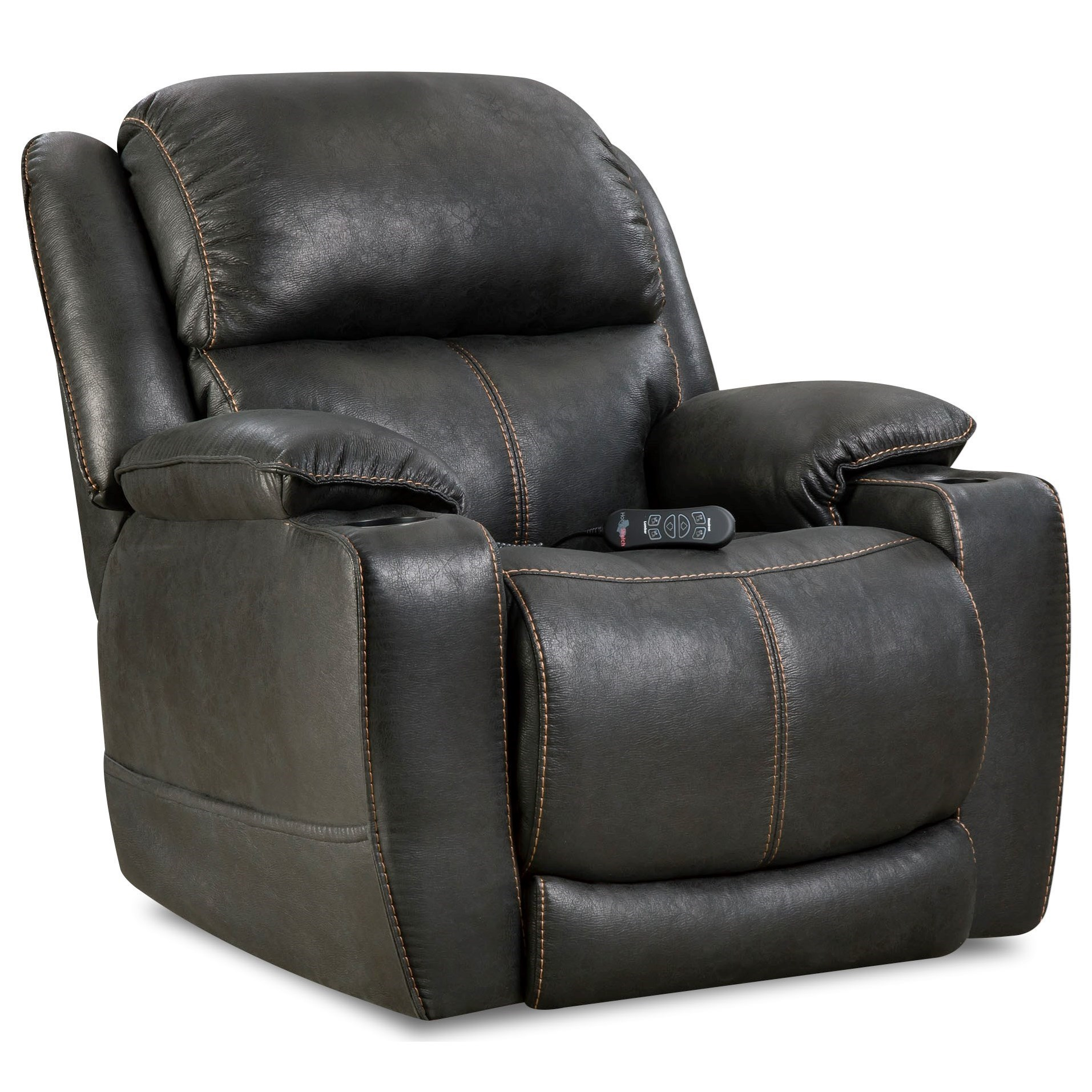 HomeStretch Starship Casual Home Theater Recliner with Cup Holders - Great American Home Store - Three Way Recliners  sc 1 st  Great American Home Store & HomeStretch Starship Casual Home Theater Recliner with Cup Holders ... islam-shia.org