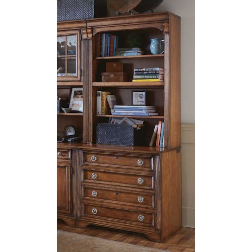 Hamilton Home Brookhaven Bookcase w/Lateral File Base