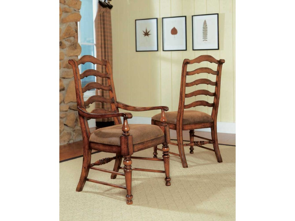 Hooker Furniture Waverly PlaceLadderback Arm Chair