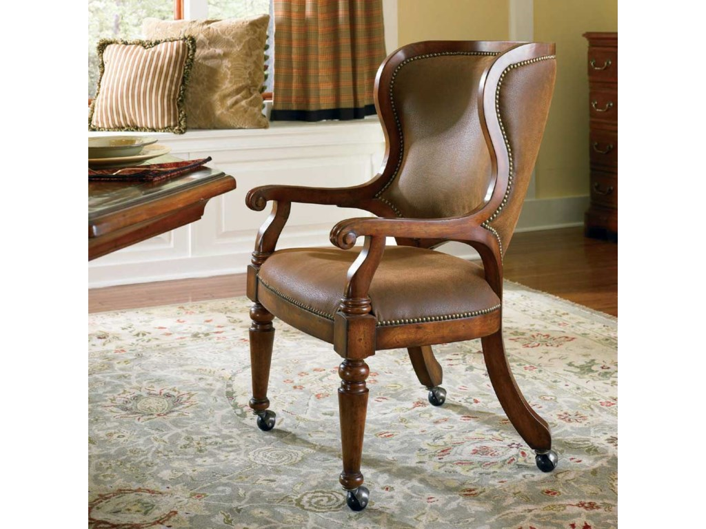 Hooker Furniture Waverly PlaceCastered Game Chair