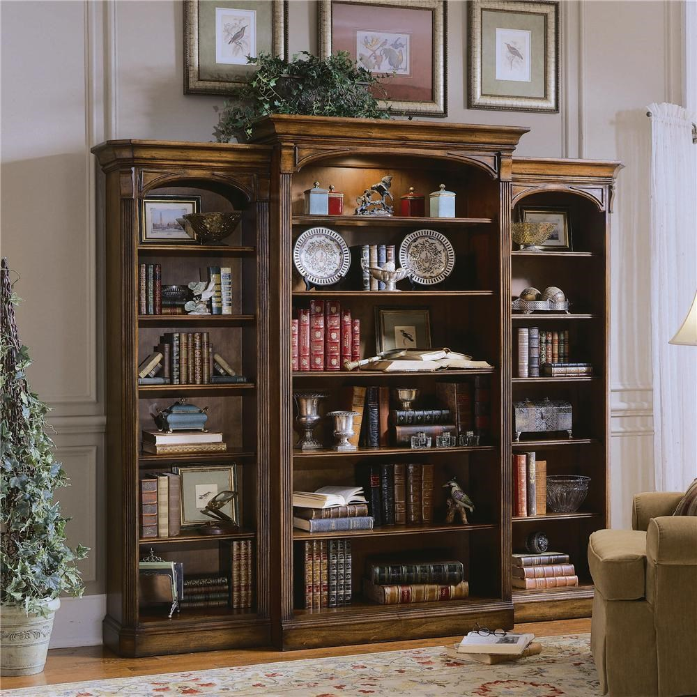 Ordinaire Hooker Furniture Brookhaven Three Piece Open Bookcase