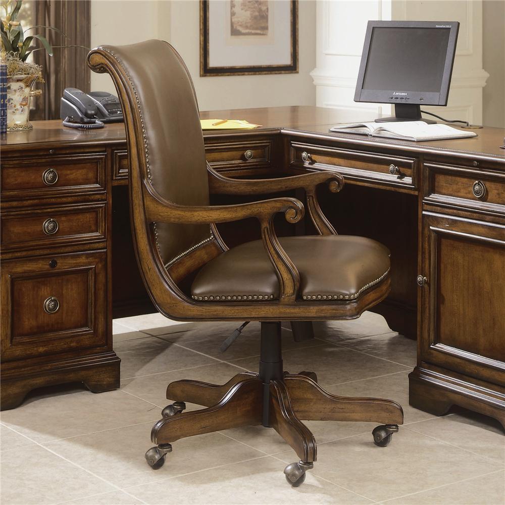 Elegant Hooker Furniture Brookhaven Desk Chair