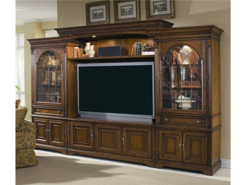 Hooker Furniture Brookhaven Entertainment Center with ...