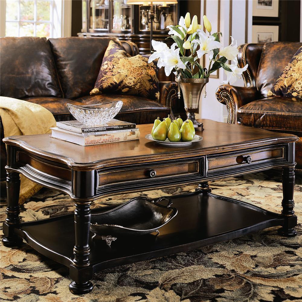 - Hooker Furniture Preston Ridge Rectangular Cocktail Table Wayside  Furniture Cocktail Or Coffee Table
