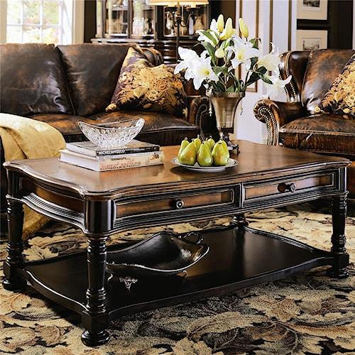Hooker Furniture Preston Ridge Rectangular Cocktail Table