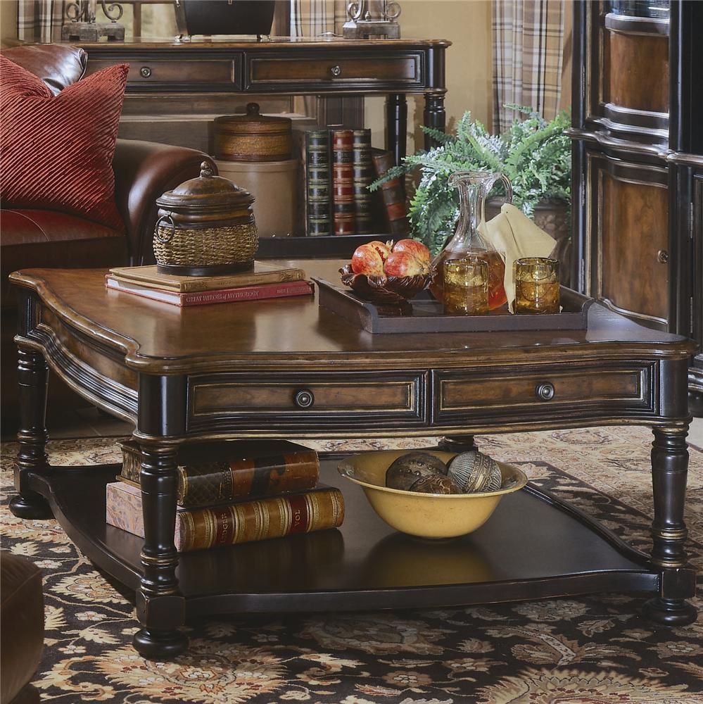 Delightful Hooker Furniture Preston Ridge Square Cocktail Table