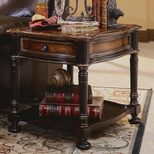 Hooker Furniture Preston Ridge One Drawer End Table