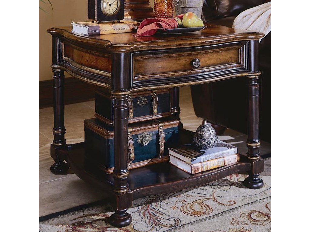 e3090340a6a2d Hooker Furniture Preston Ridge Lamp Table