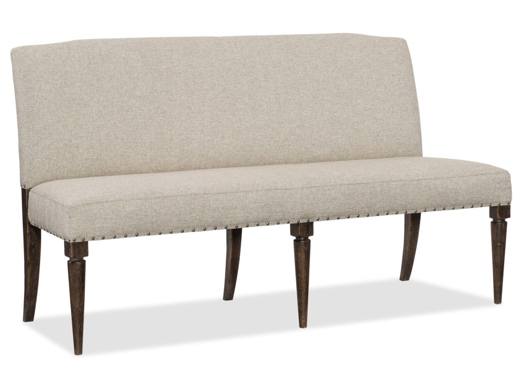Hooker Furniture 1618-American LifeUpholstered Bench