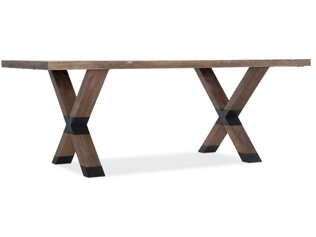Hooker Furniture 1666-75Trestle Table