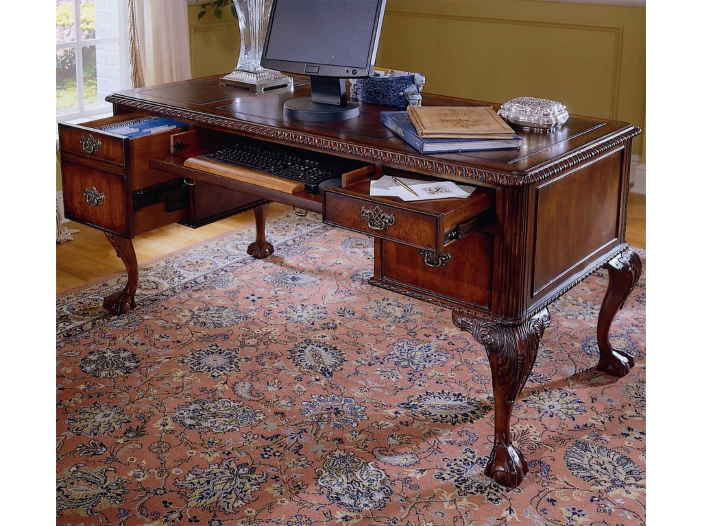Hamilton Home 434Ball Claw Writing Desk