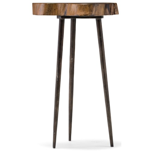 Hooker Furniture 5528 Acacia Round Slab Table