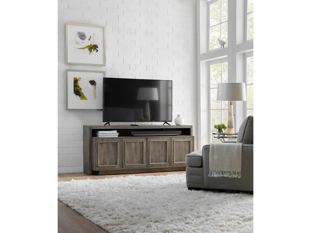 Hooker Furniture 5607-55Entertainment Console 72