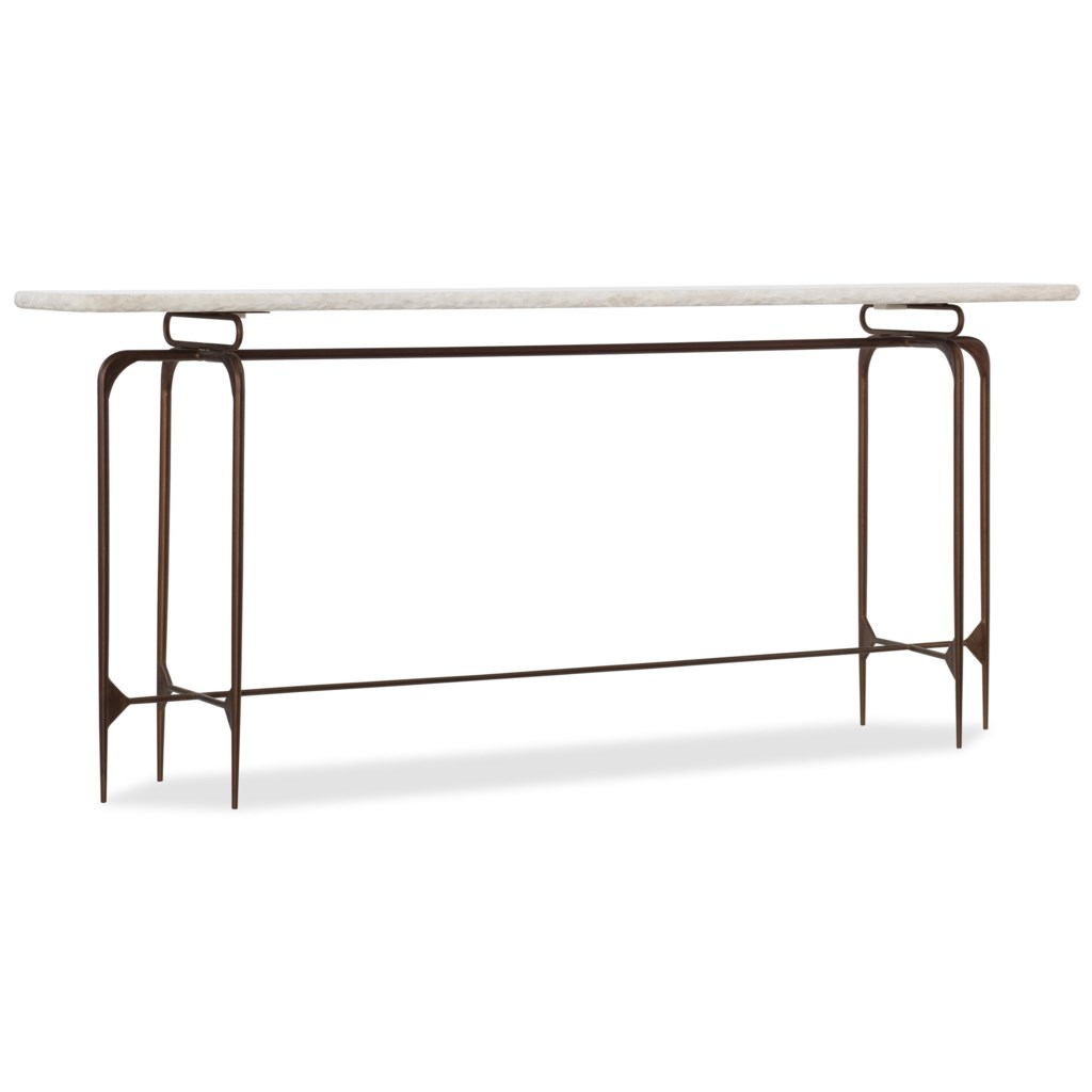 Hooker Furniture 5633 5633 85001 Wh Skinny Metal Console Table With