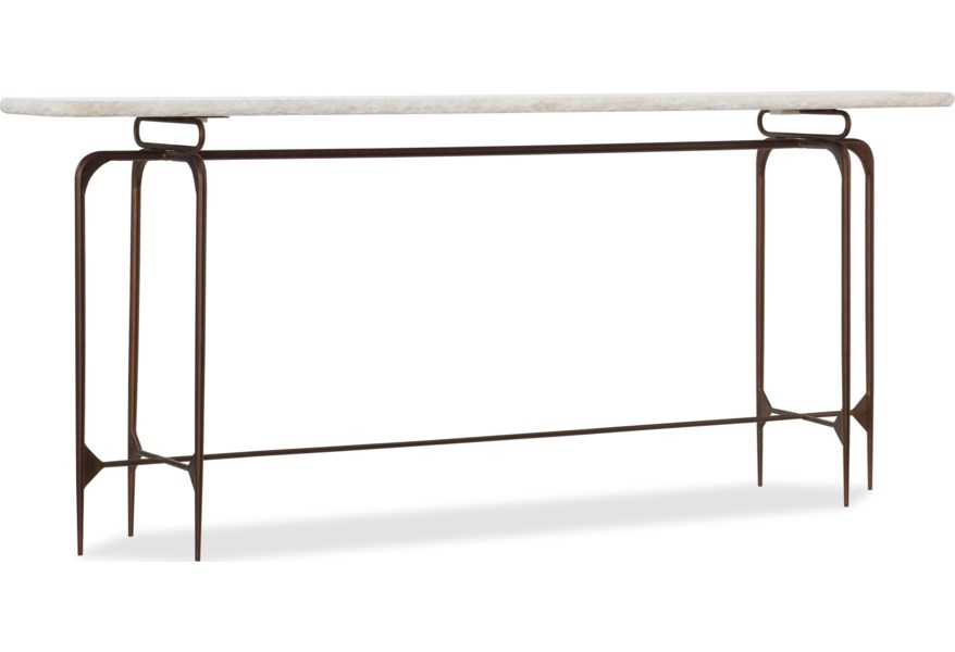 Skinny Metal Console Table