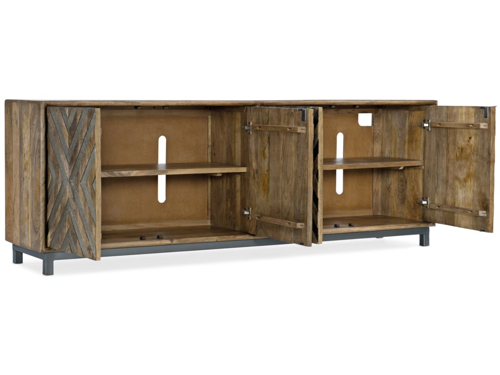 Hooker Furniture 5649-55Door Entertainment Console