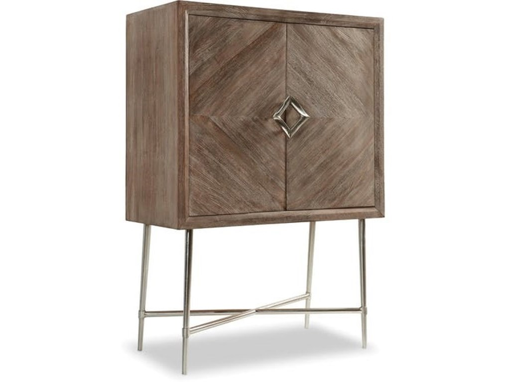 Hooker Furniture 5677 50 5677 50001 Dkw Contemporary Bar Cabinet