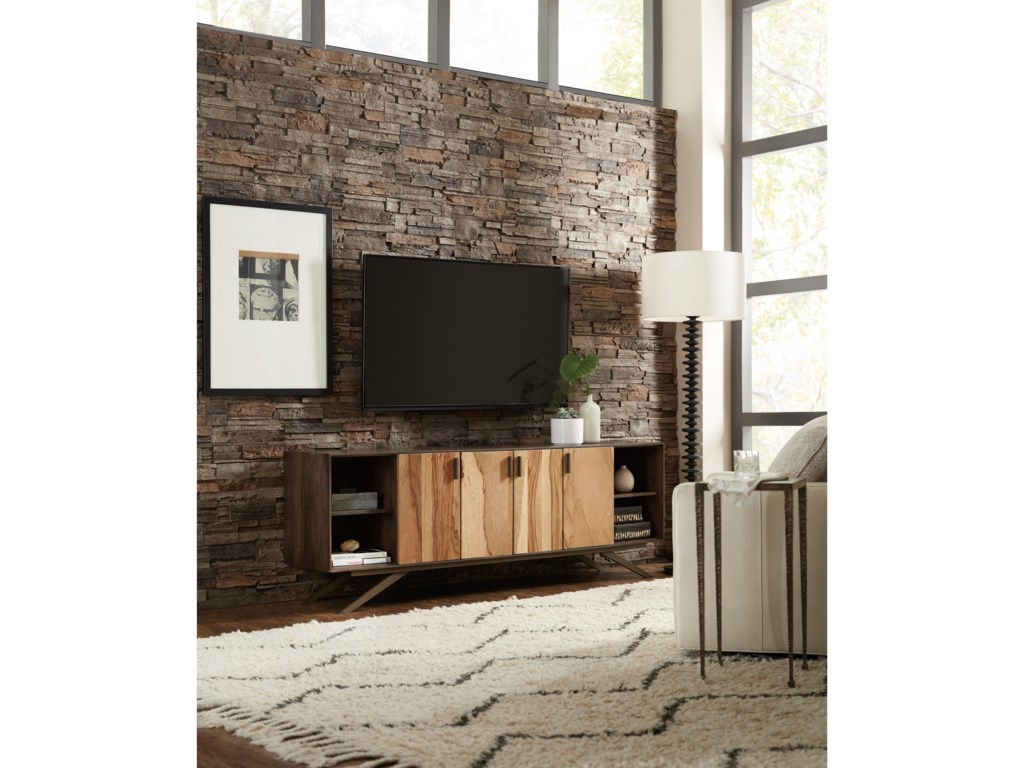 Hooker Furniture 5687-55Shogun 78in Entertainment Console