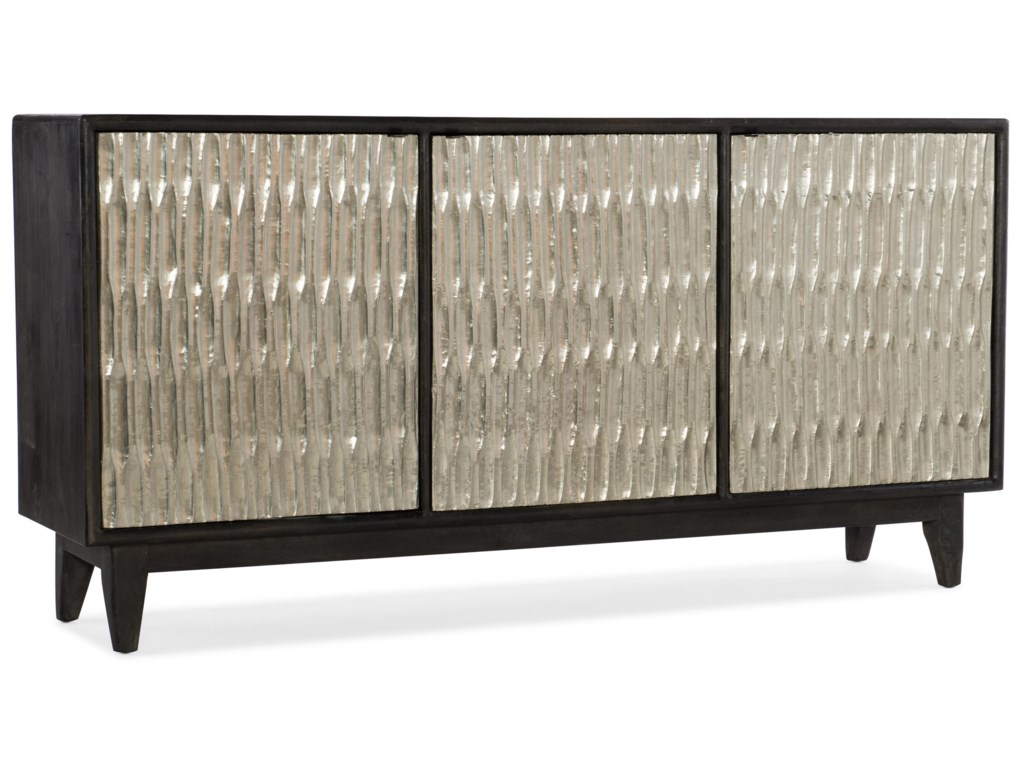 Hooker Furniture 5716-85Shimmer Three-Door Credenza