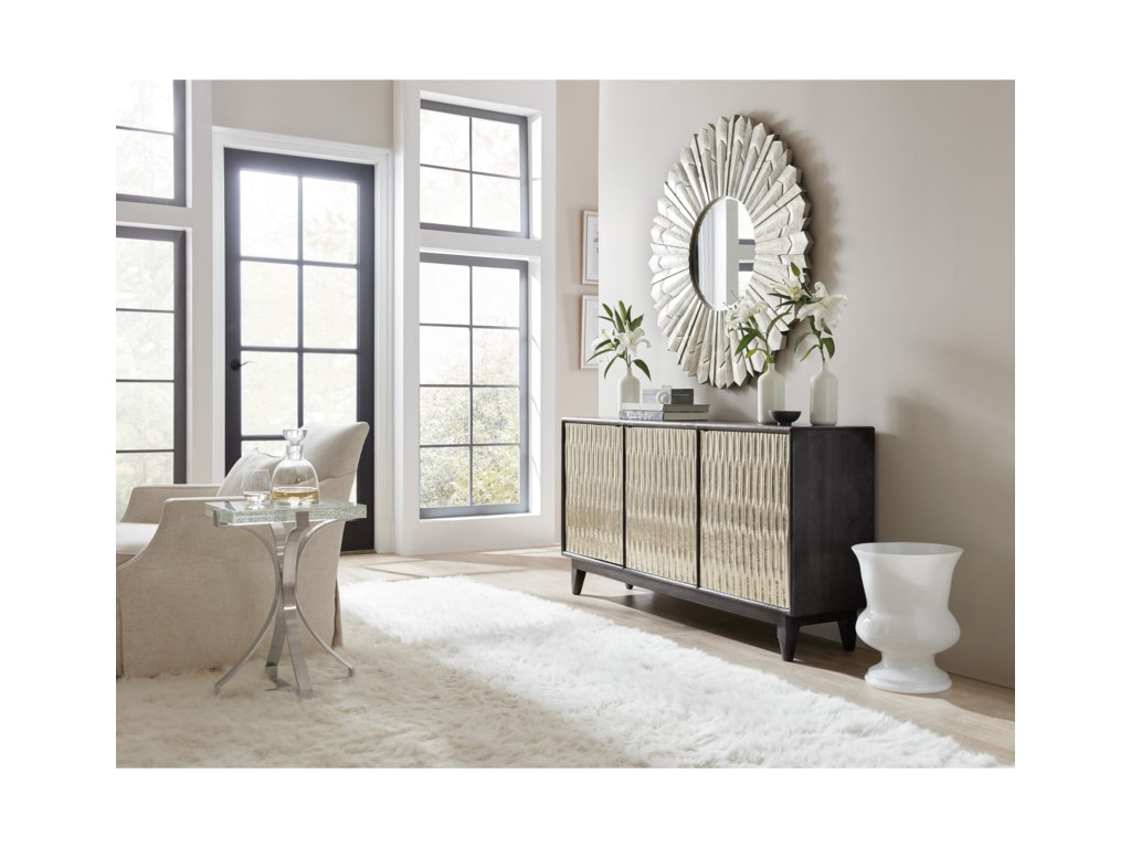 Hamilton Home 5716-85Shimmer Three-Door Credenza