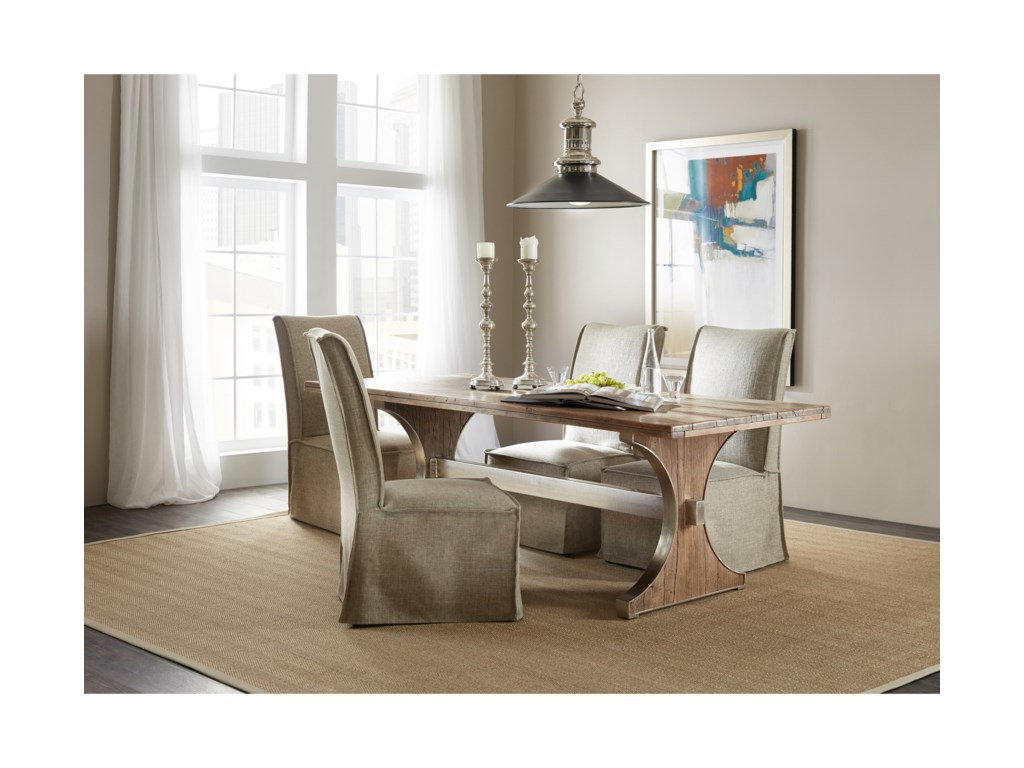 Hooker Furniture 5951-75Rectangle Dining Table