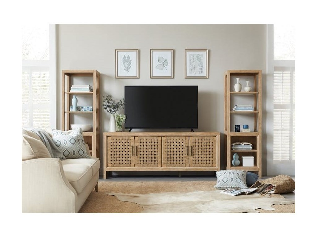 Hamilton Home 6040-70Entertainment Wall Unit