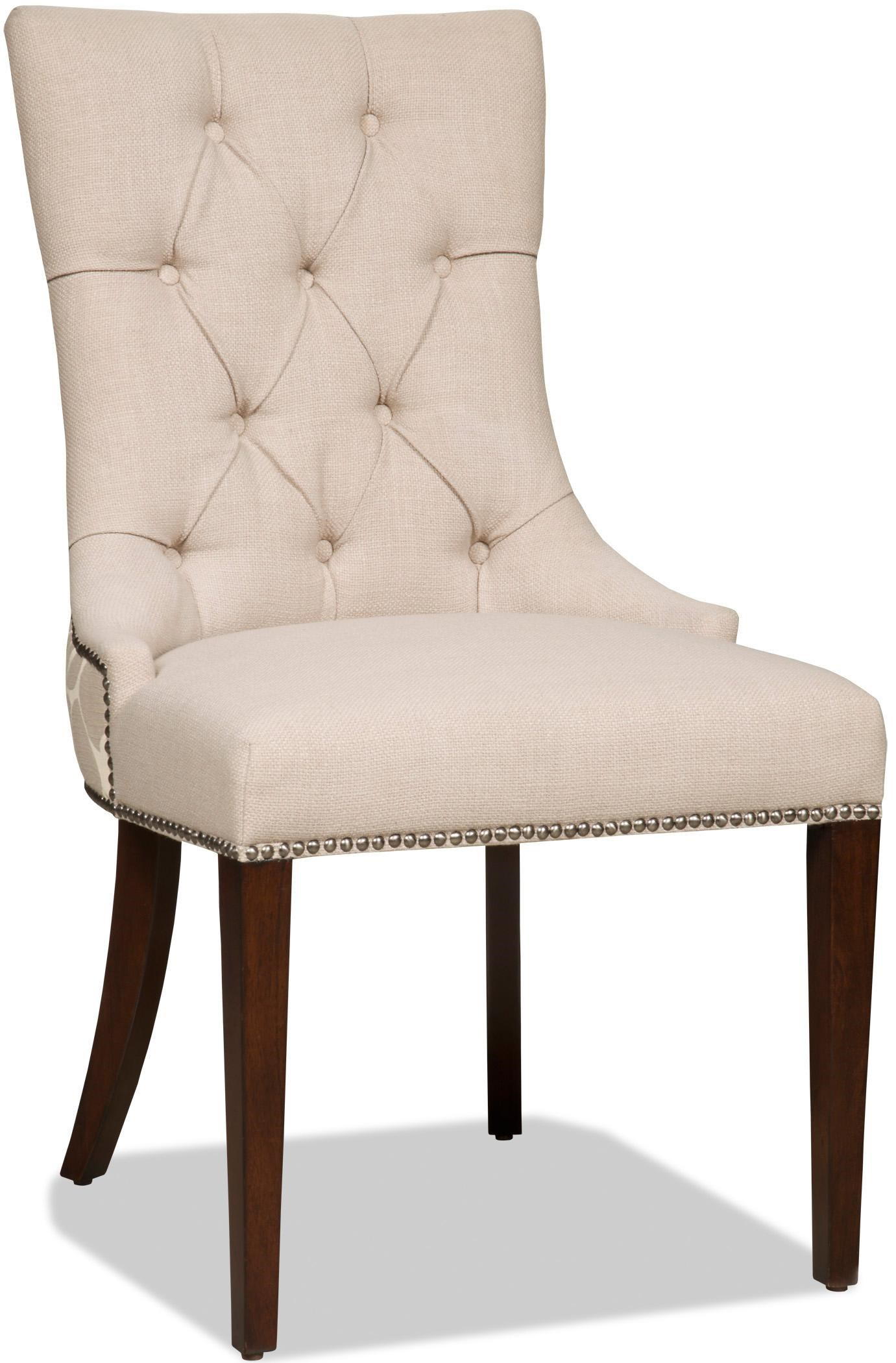 Hooker Furniture Dining Chairs Upholstered Dining Side Chair With Button  Tufting