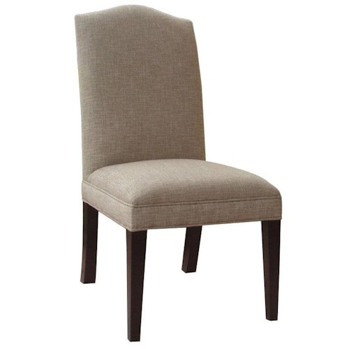Hooker Furniture Dining Chairs Upholstered Parsons Style Side Chair