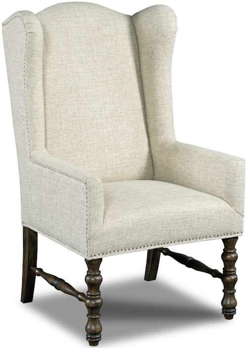Hamilton Home Dining Chairs Host Wing Back Dining Chair