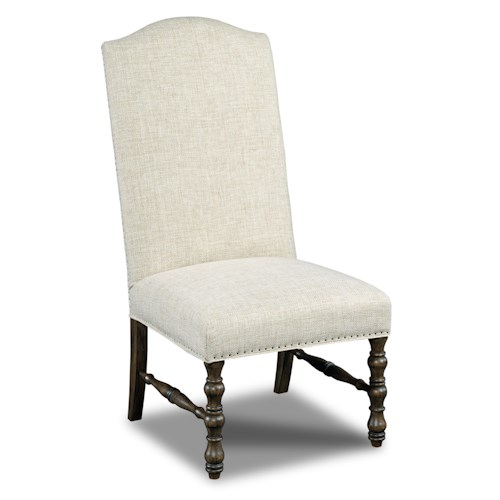 Hamilton Home Dining Chairs Upholstered Armless Dining Chair
