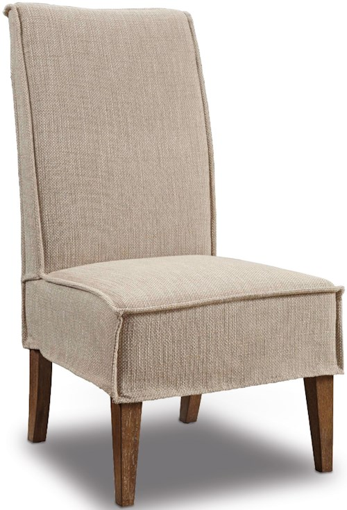 Hooker Furniture Dining Chairs Mini Slipcover Dining Chair