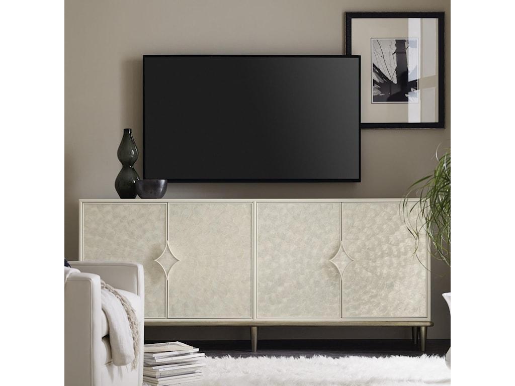 Hooker Furniture Living Room Accents4-Door Entertainment Console