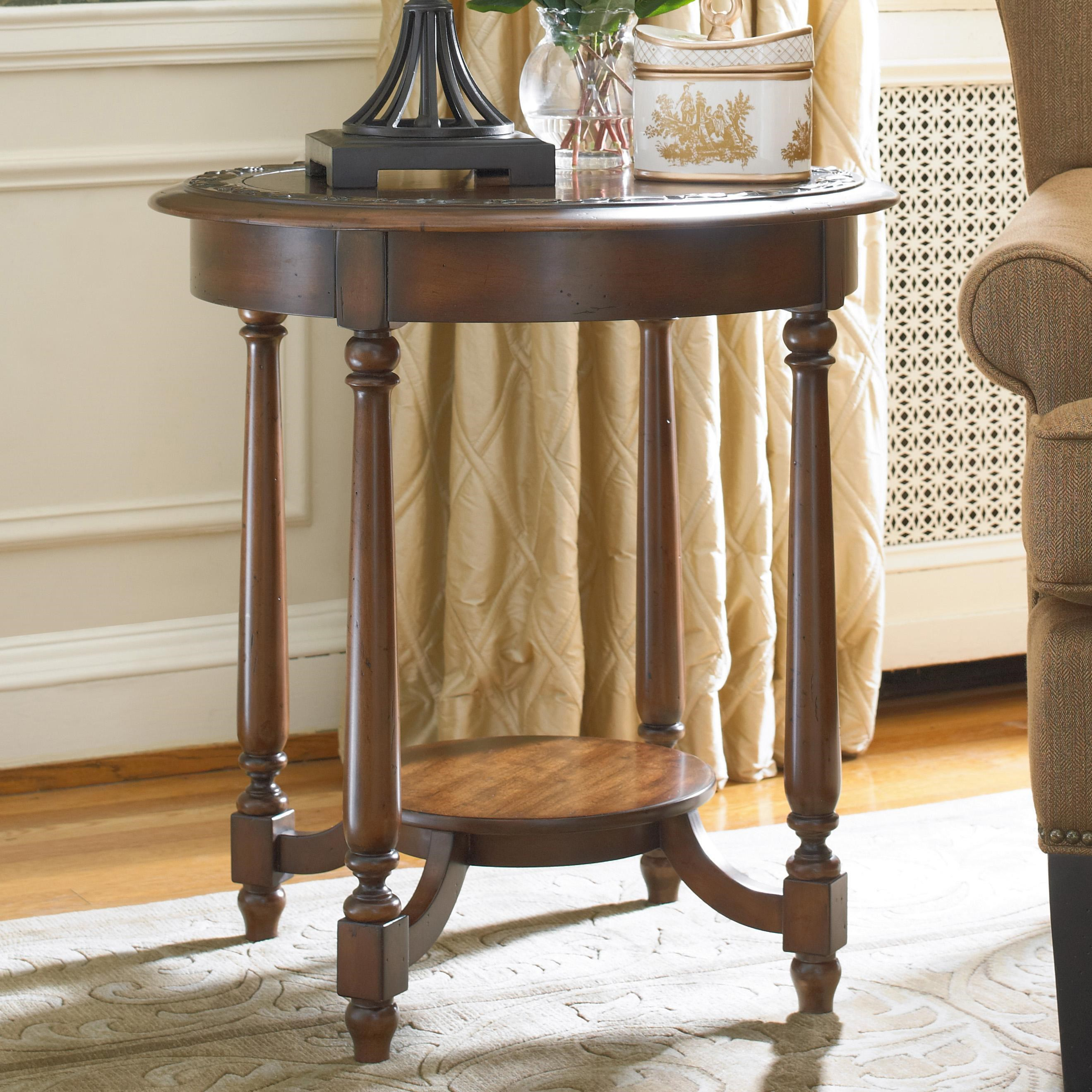 Accent Tables For Living Room Part - 17: Hooker Furniture Living Room AccentsRound Accent Table ...