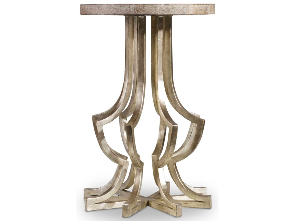 Hooker Furniture Living Room AccentsMetal Chairside Table