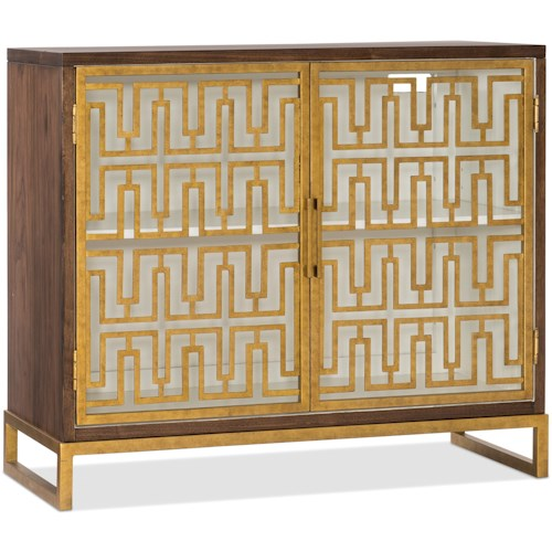 Hooker Furniture Living Room Accents Contemporary Open Chest