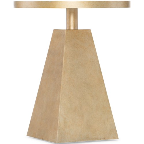 Hooker Furniture Living Room Accents Pyramid Accent Table