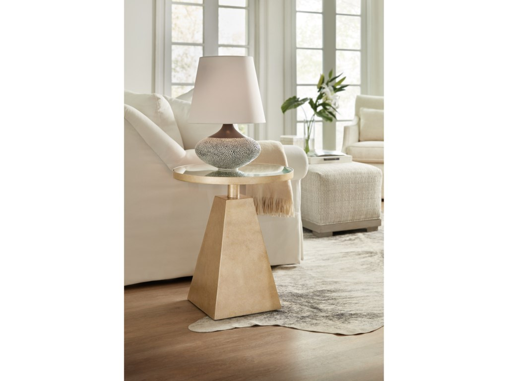 Hooker Furniture Living Room AccentsPyramid Accent Table