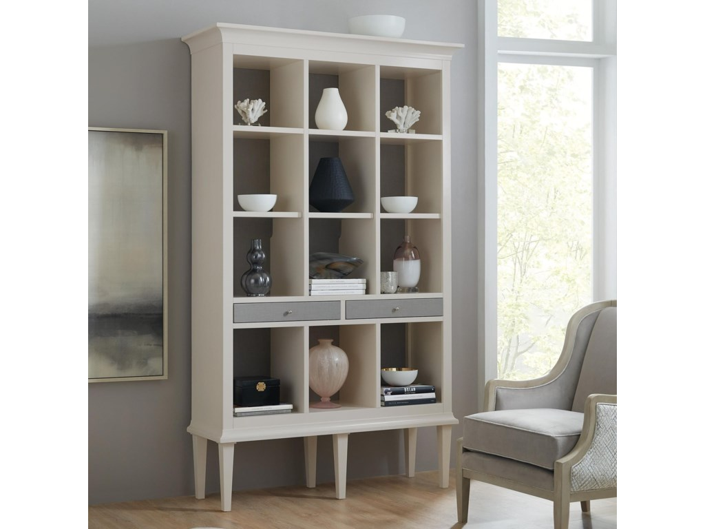 Hooker Furniture Living Room AccentsOpen Display Cabinet