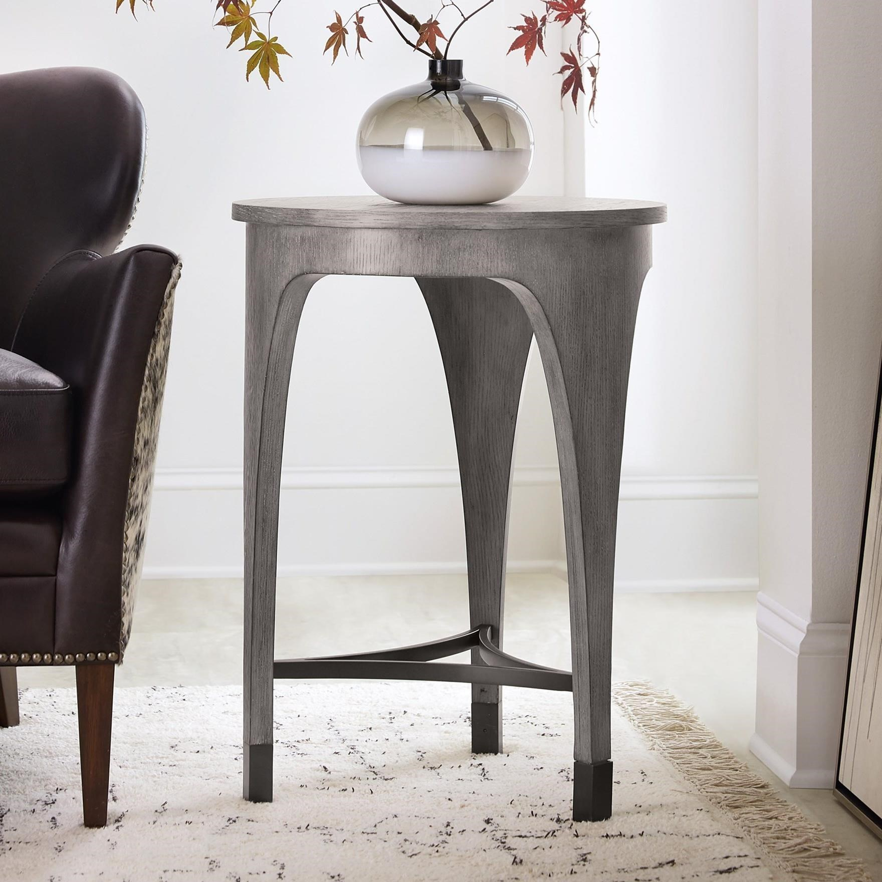 - Hooker Furniture Living Room Accents Contemporary EndTable