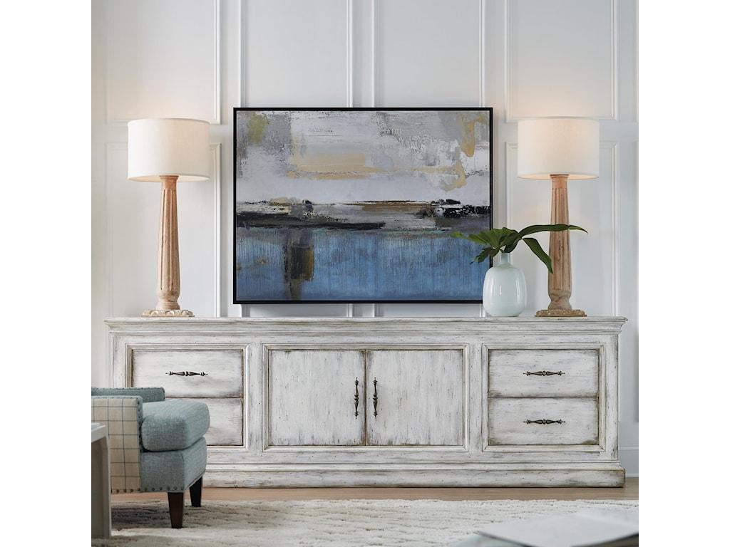 Hooker Furniture Living Room Accents2-Door 4-Drawer Credenza