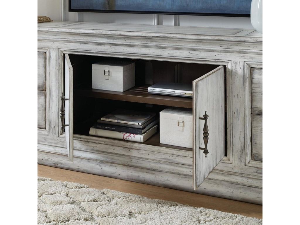 Hooker Furniture Living Room Accents2-Door 4-Drawer Credenza