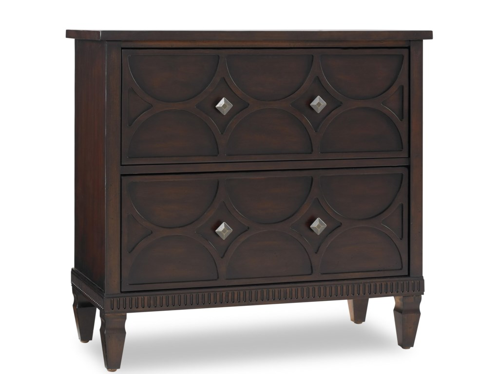 Hooker Furniture Living Room AccentsTwo Drawer Chest