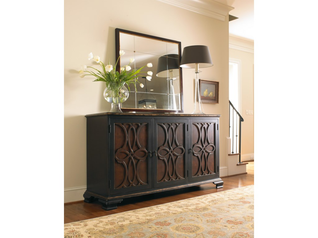 Hooker Furniture Living Room AccentsTwo Tone Credenza