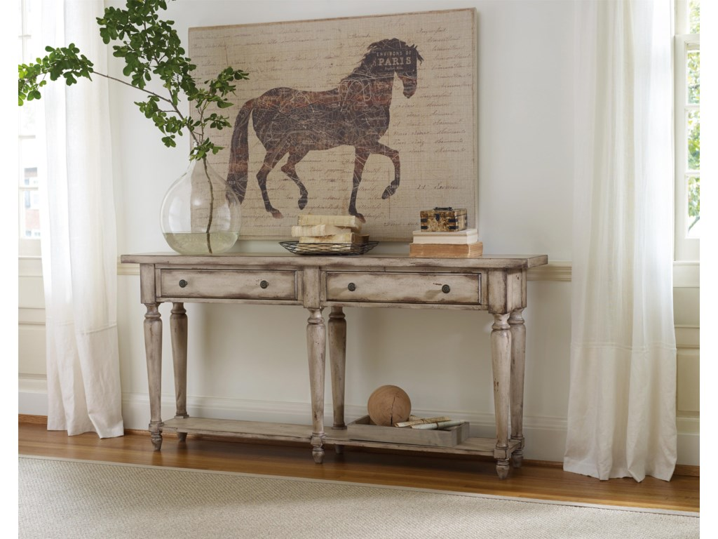 Hooker Furniture Living Room AccentsThin Console