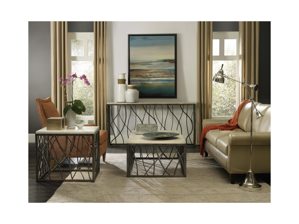 Hooker Furniture Living Room AccentsRectangle Cocktail Table