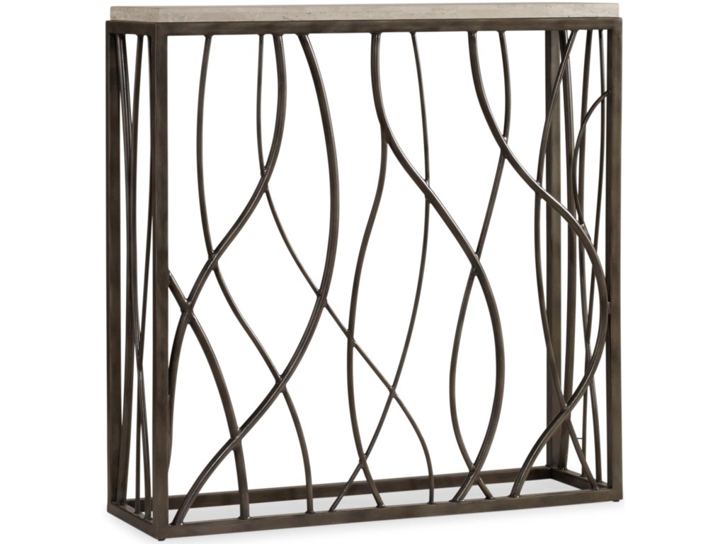 Hooker Furniture Living Room AccentsThin Metal Console