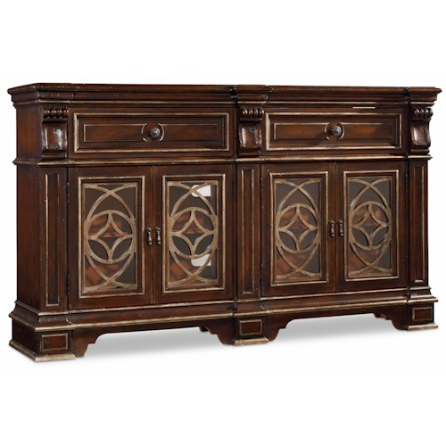 Hamilton Home Living Room Accents Traditional Chest with Dovetail Drawers