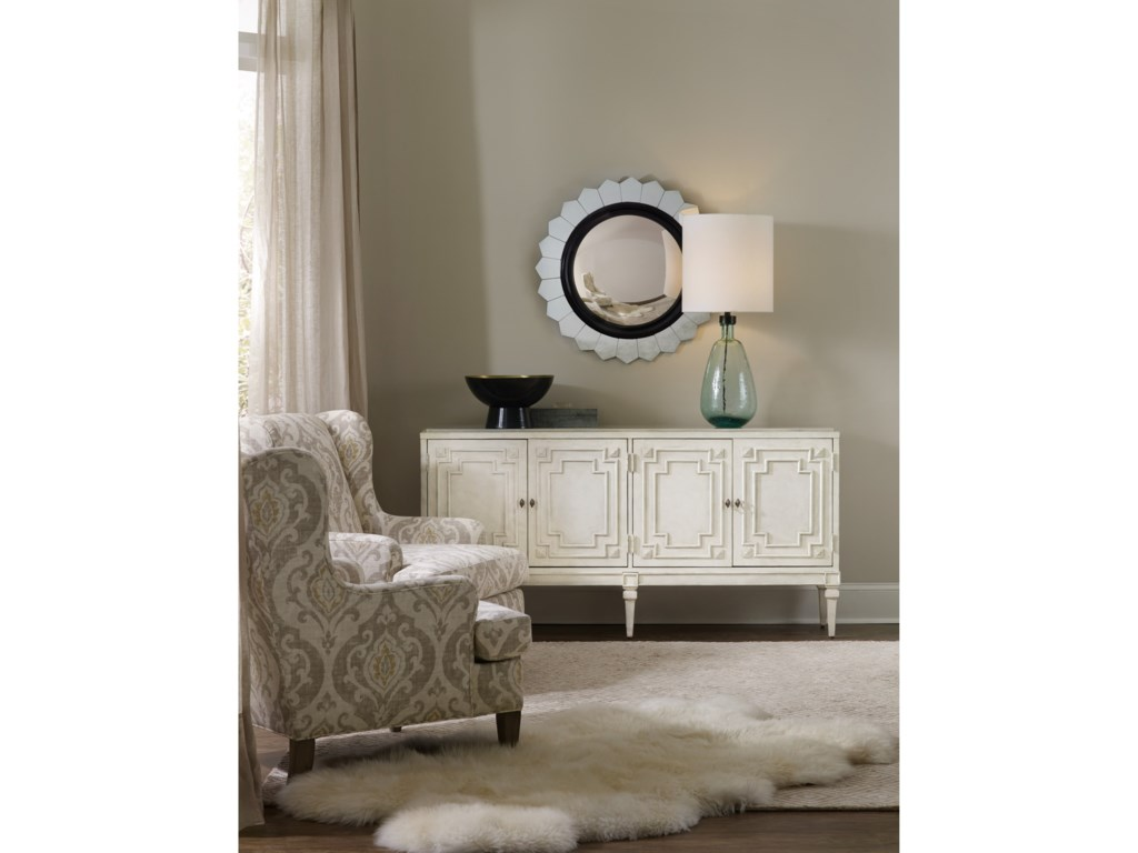 Hooker Furniture Living Room Accents4-Door Credenza