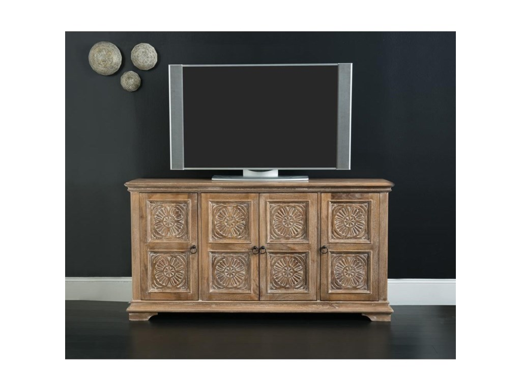 Hooker Furniture Living Room Accents68 Inch Entertainment Console