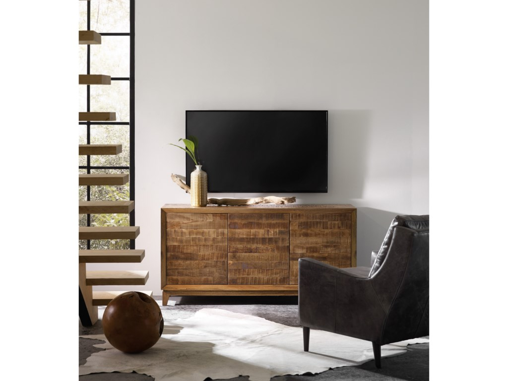Hooker Furniture Living Room Accents64 Inch Entertainment Console